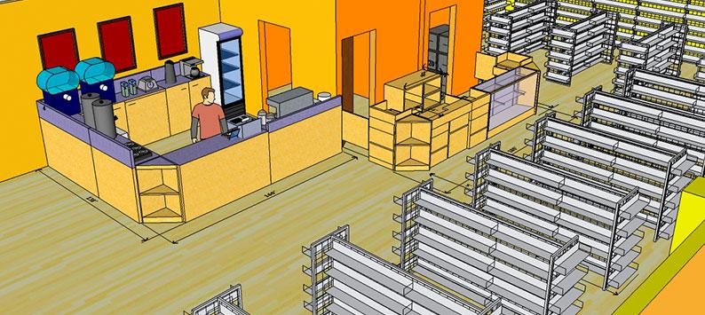 Como montar um bom layout de uma loja de EPI