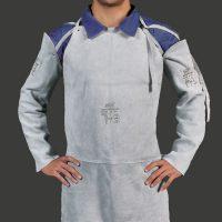 Avental de Raspa sem Mangas tipo Açougueiro (Soldador)
