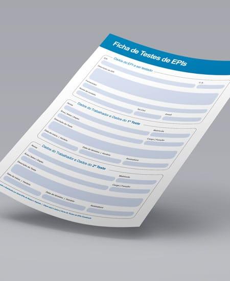 Template | Ficha de Testes para EPIs