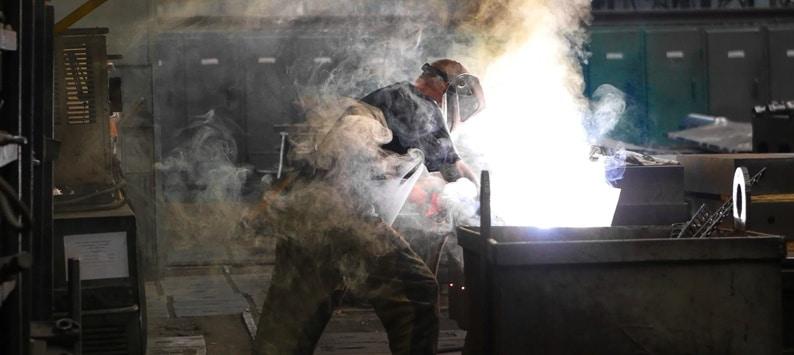 Prevenção de doenças pulmonares no trabalho – Fumos de solda